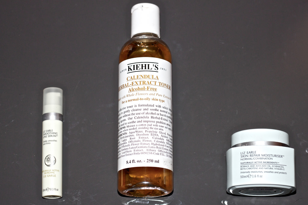Liz Earle Moisturiser Kiehls Toner April Purchases: Essie Nail Polish, Kiehls & Liz Earle