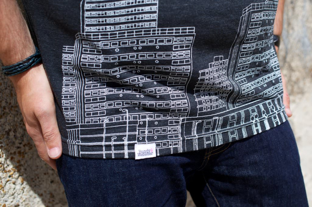 Bundy And Webster Council Estates Tshirt Detail 061 mini