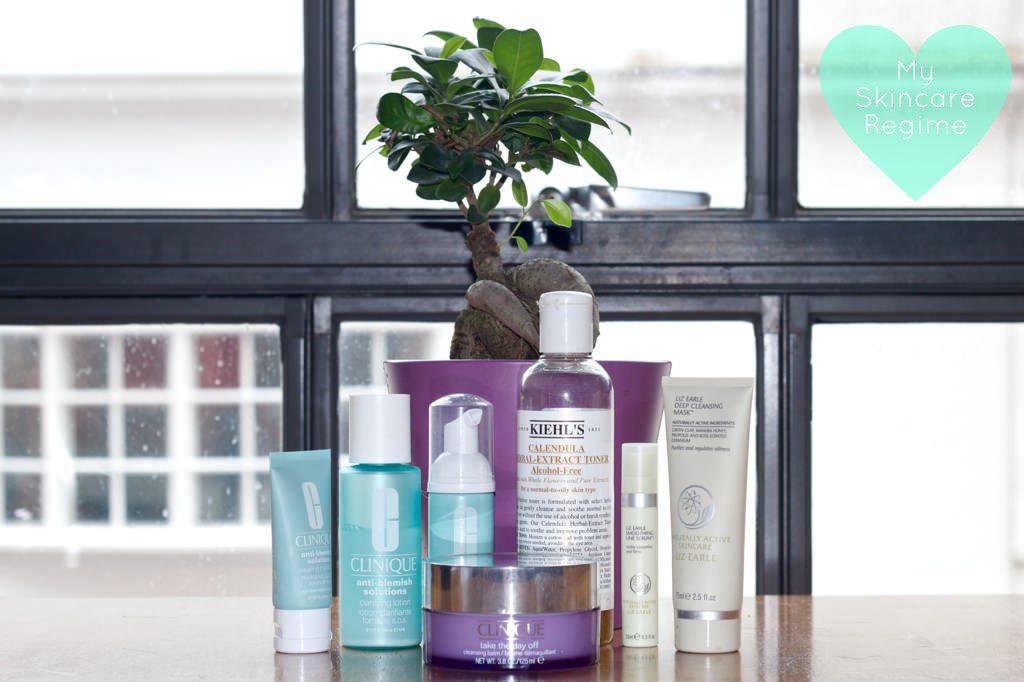 Clinique Liz Earle Kiehls Skin Care Regime Spots 069 mini