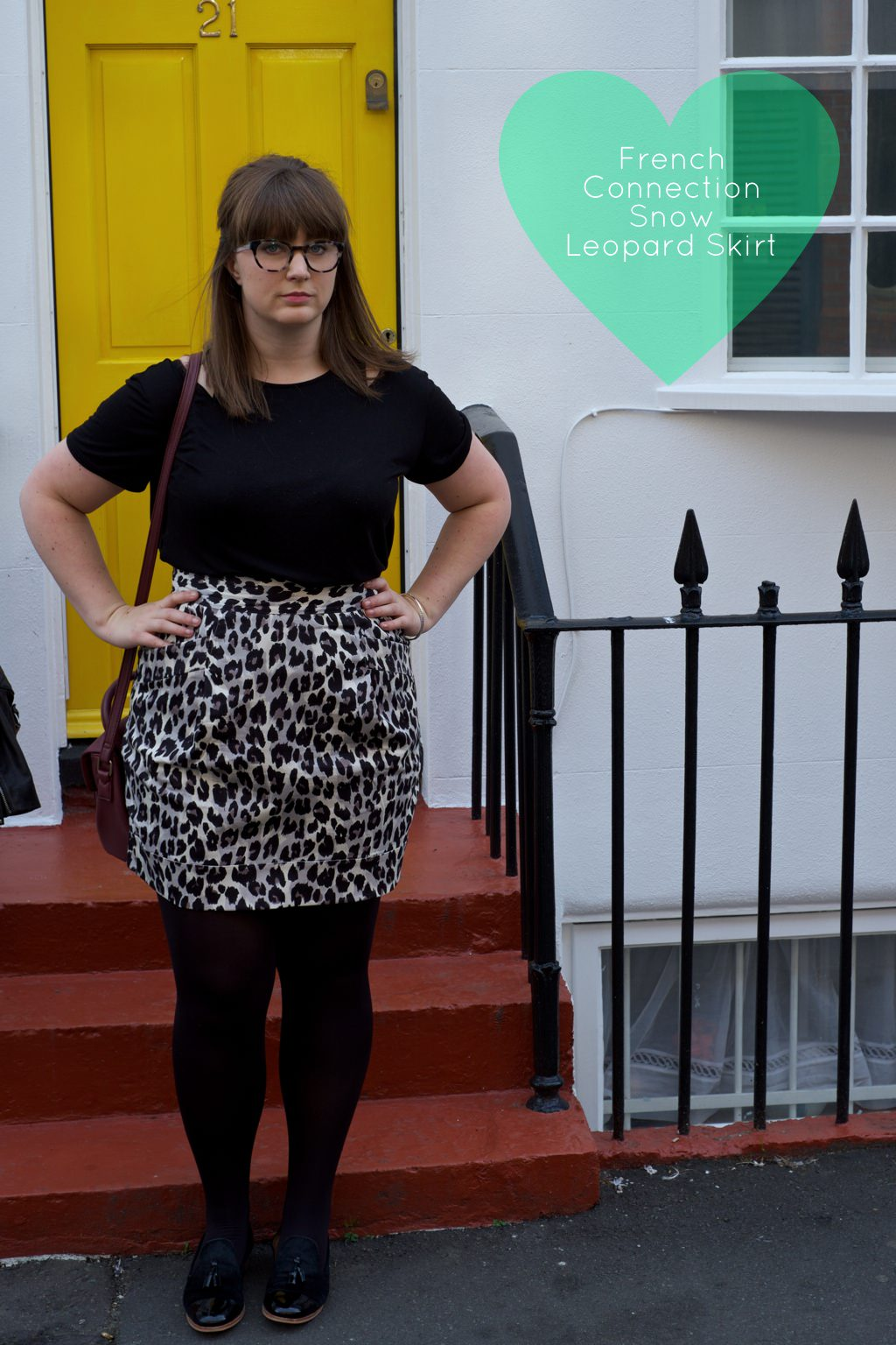 French Connection Leopard Skirt 1 110