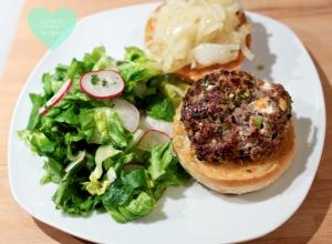 Minted Lamb & Feta Burgers | Recipe