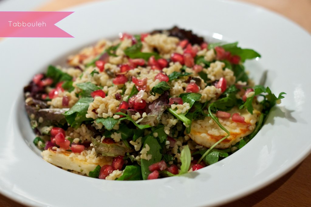 HelloFresh Tabbouleh Salad With Halloumi 089