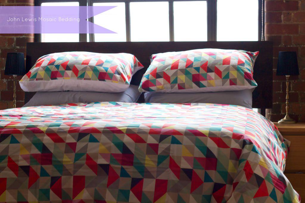 John Lewis Mosaic Bed Linen 2 074