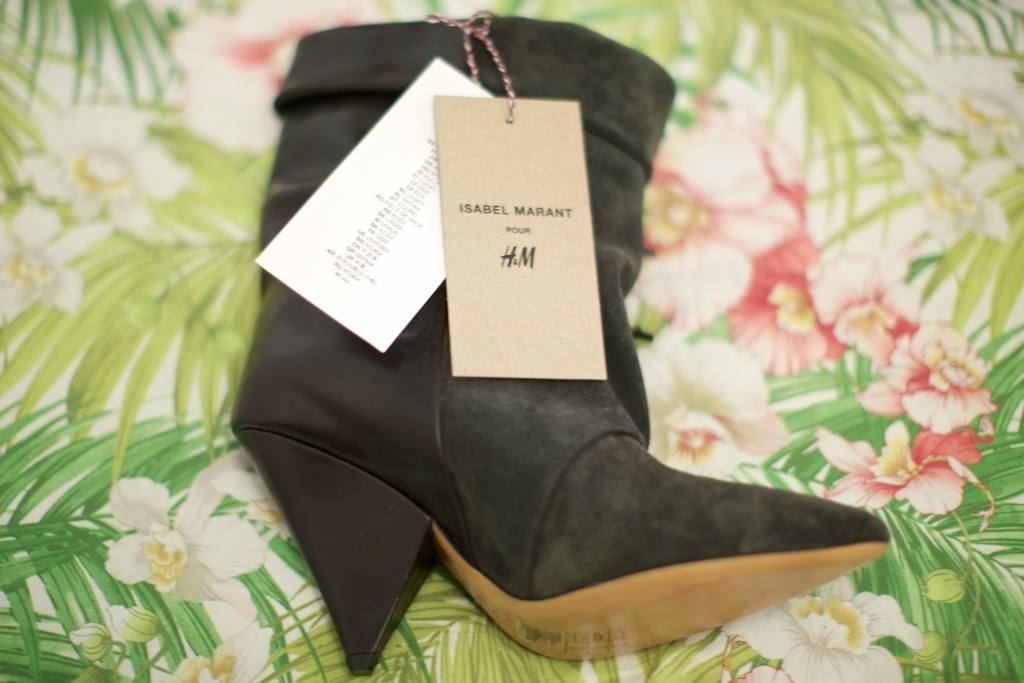 ad6cd05570b6 Isabel Marant Pour H M  Suede Boots