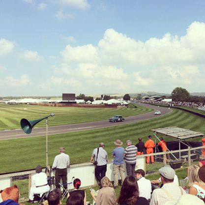 Goodwood Revival racetrack